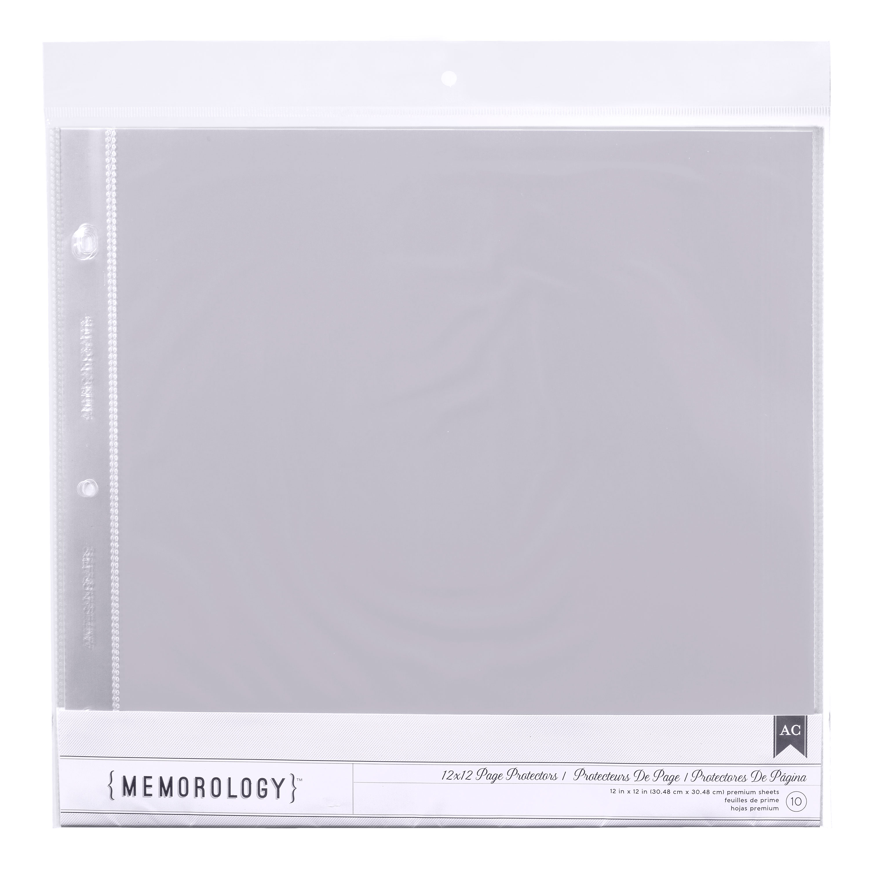 12 X 12 Page Protectors 10 Pack American Crafts