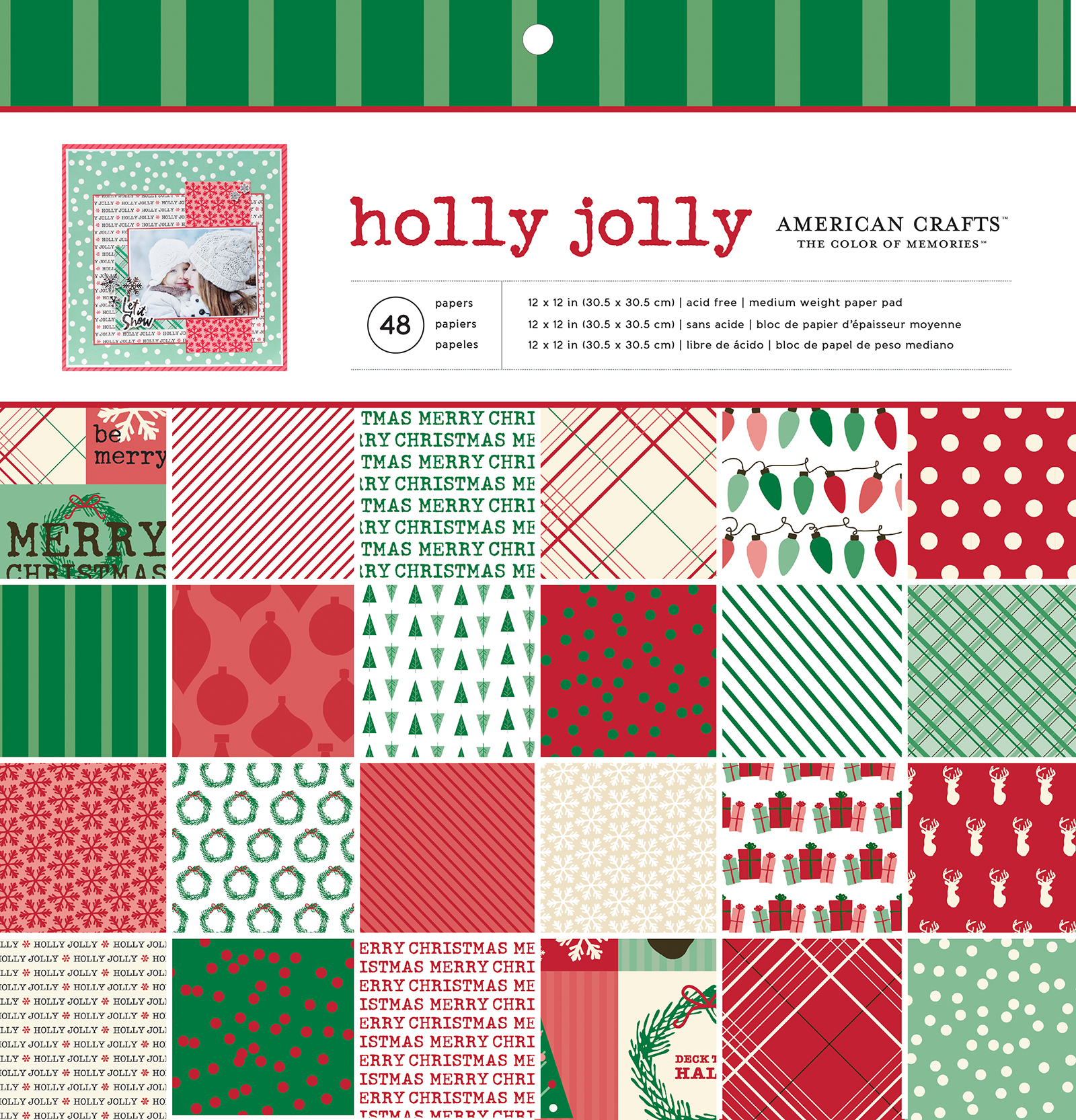 340494_ACM_12x12PaperPad_HollyJolly_PKG_Cover