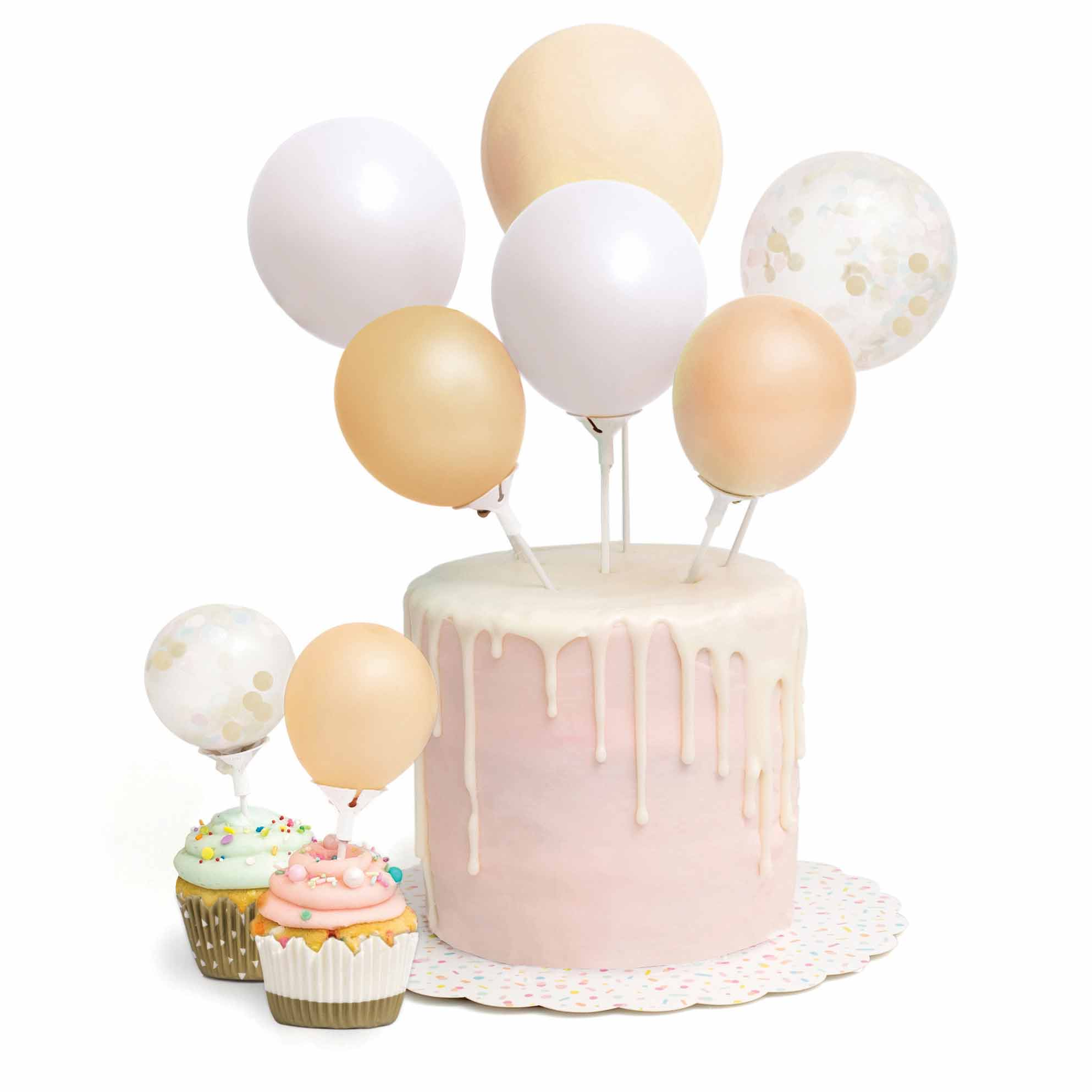MINI BALLOON CAKE TOPPER KIT American Crafts