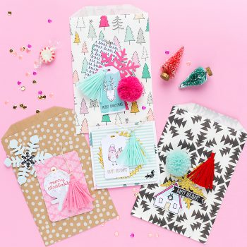 Crate Paper Snow and Cocoa Scrapbook Layout