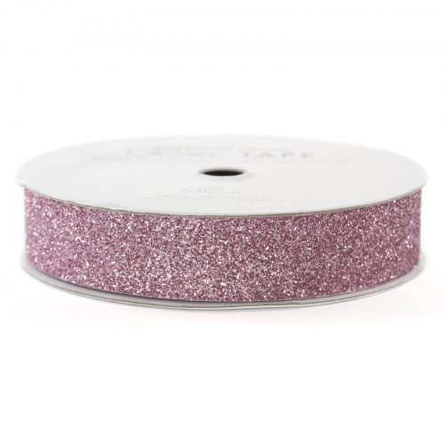 American Crafts Value Pack Glitter Ribbon Tape Spool 1 Yard Pack of 24
