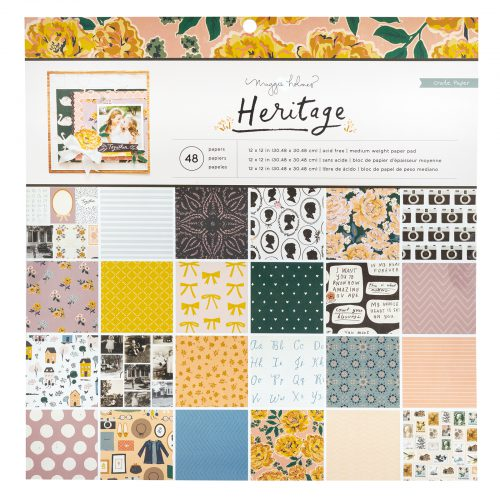 Crate Paper Maggie Holmes 12 x 12 Paper Pad