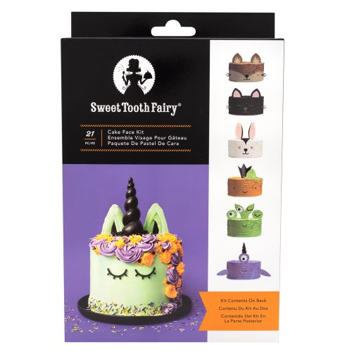 Sweet Tooth Fairy Halloween Cake Face Kit