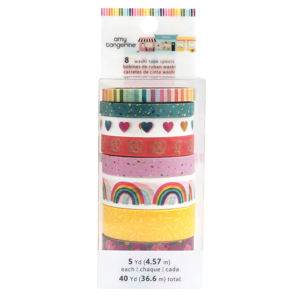 American Crafts Amy Tangerine Slice of Life Washi Tape