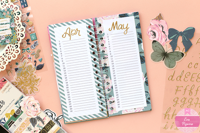 Create a Perpetual Birthday Book to get organized next year! pc:@evapizarrov