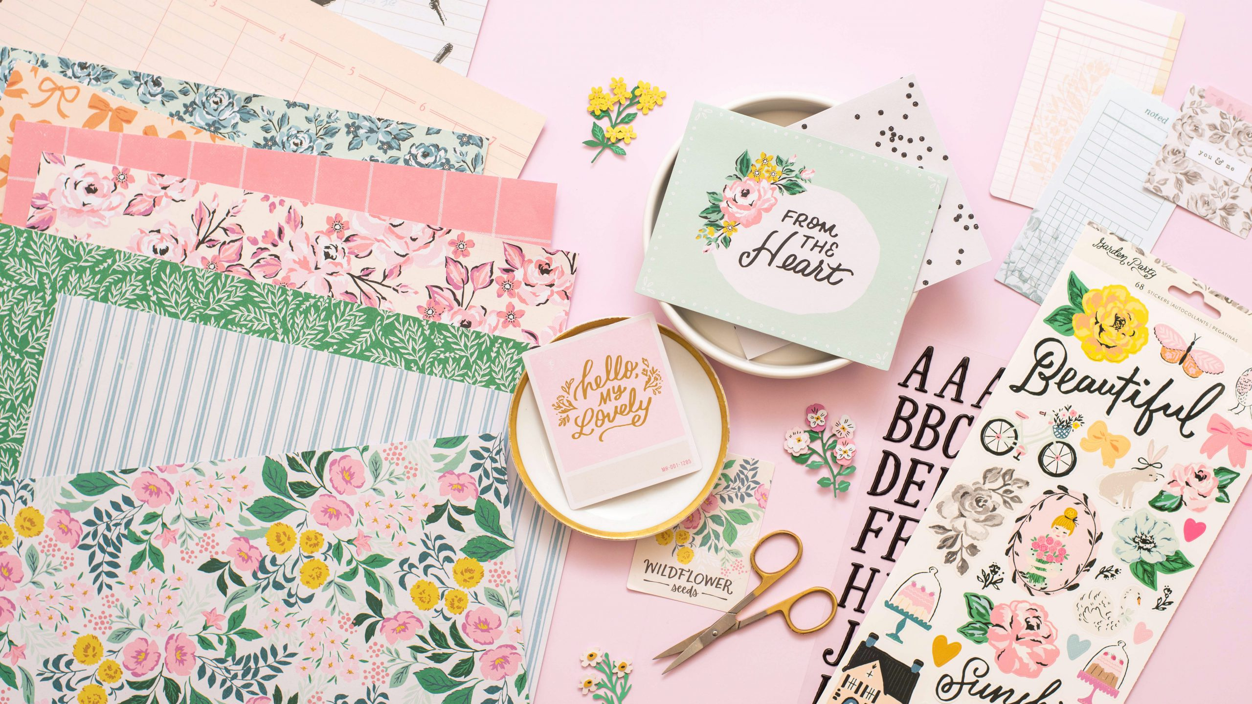 Maggie Holmes' New Garden Party Collection - American Crafts on Backyard Landscape Planner id=57879
