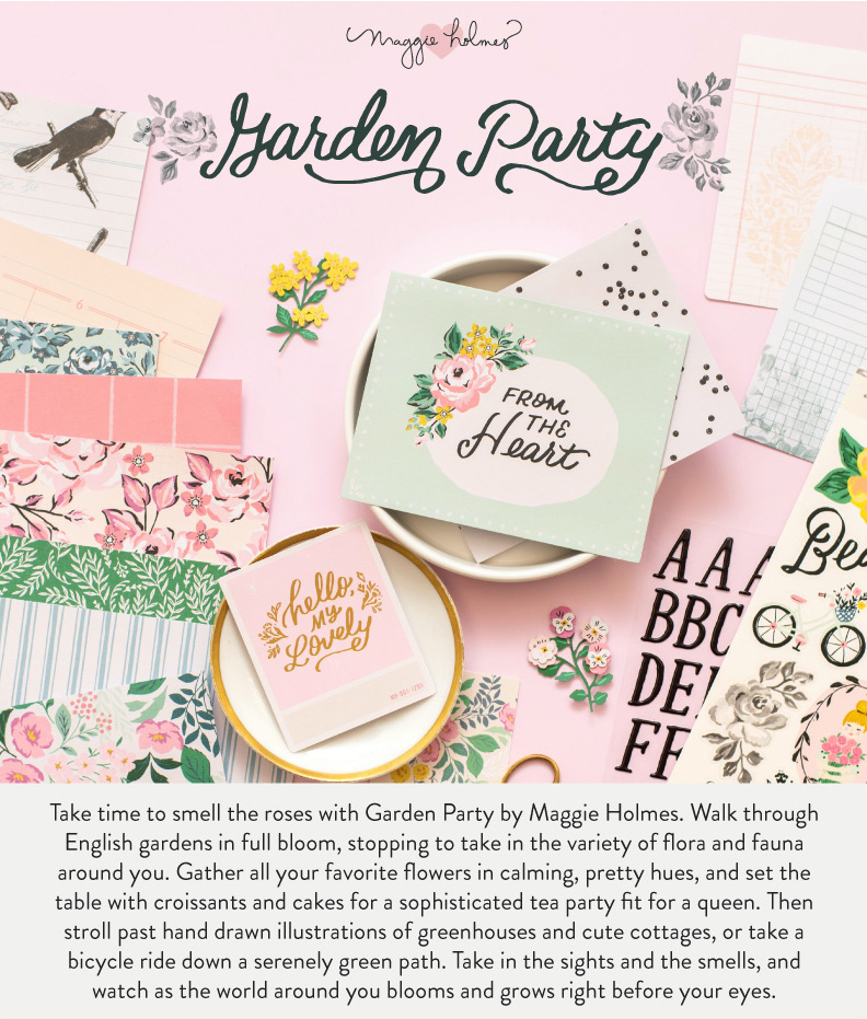 Maggie Holmes' New Garden Party Collection - American Crafts on Backyard Landscape Planner id=74678